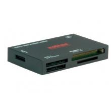 ROLINE externer Multi-Kartenleser USB 3.0 schwarz Bild 1