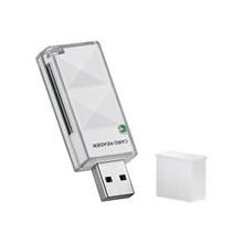 Goobay SD/SDHC externer Kartenleser USB 2.0 weiß Bild 1