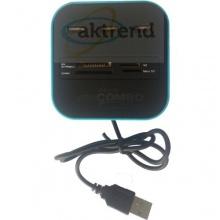 AKTrend all in one Combo USB 2.0 3-Port Hub Kartenleser Bild 1