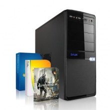 Super Silent Multimedia + Gaming Quad Core PC AMD A8-6600K Bild 1