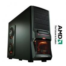 GAMER PC AMD bulldozer fx4300 QUAD CORE 4x3,8GHz 500GB HDD Bild 1