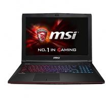 MSI GE62-2QFUi716H11 15,6 Zoll Intel Core i7-4720HQ, 2,6GHz schwarz Bild 1