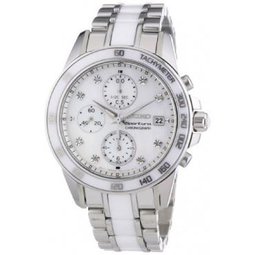 Seiko Chronograph Damen Luxusuhr Bild 1