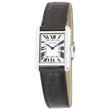 Cartier Tank Solo Kollektion Damen Luxusuhr Bild 1