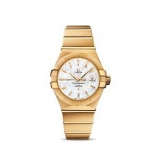Omega Constellation Brushed Chronometer Damen Luxusuhr Bild 1