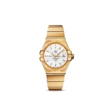 Omega Constellation Brushed Chronometer Damen Luxusuhr Bild 1