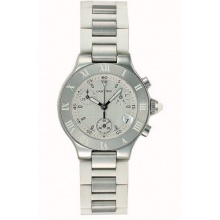 Cartier 21 Chronograph Kollektion Damen Luxusuhr Bild 1