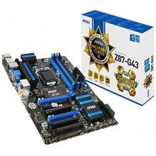 MSI 7816-001R Z87-G43 Intel Z87 Mainboard Sockel LGA 1150  Bild 1
