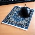 Orient&Ornament Mousepad Orientteppich blau Bild 1