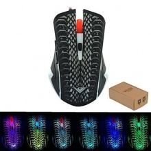 USB verdrahtete kühle Beleuchtung Mäuse Leucht Bild 1