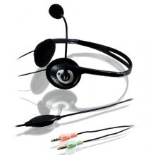 CSL Headset Komfort Kopfhörer Mikrofon schwarz Bild 1