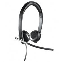 Logitech H650e Stereo Headset USB schwarz Bild 1