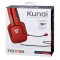 Tritton Kunai Stereo Headset Endgeräte - Rot Bild 1