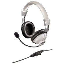 Hama PC Headset HS 300 weiß Stereo Bild 1