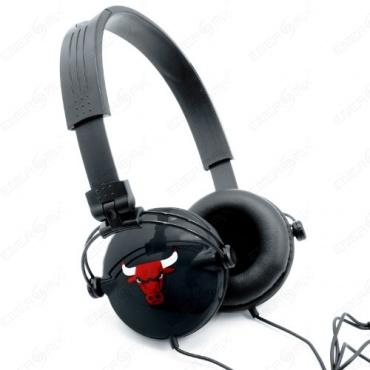 PC-Headst mit Kopfhörer Headphones geschlossen Schwarz Bild 1