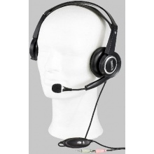 Q-Sonic Multimedia Headset S720 mit Schwanenhals-Mikro Bild 1