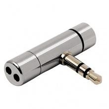 Hama Notebook Mini-Mikrofon edles Metall silber Bild 1