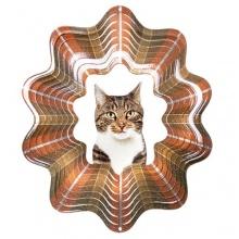 Woodstream D452-6 Iron Stop Pet Designer Windspiel getigerte Katze Bild 1