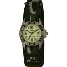 Ravel Jungen Armbanduhr Nite Glo Analog Nylon grün  Bild 1