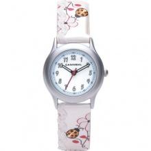 Cannibal Mädchen Armbanduhr Analog Kunststoff weiß  Bild 1