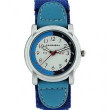 Cannibal Unisex Armbanduhr Analog Nylon blau  Bild 1