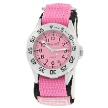 Pacific Time Kinder Armbanduhr Analog Quarz pink Bild 1