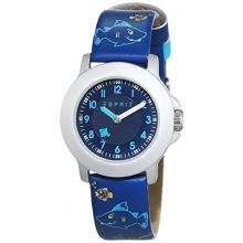 Esprit Unisex Armbanduhr Blue Analog Quarz Leder  Bild 1