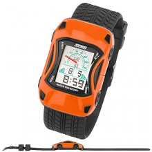 Taffstyle® Sport Kinderuhr Digital Orange Bild 1