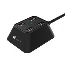EC Technology SuperSpeed USB 3.0 4-Port Hub USB Geschwindigkeit Bild 1