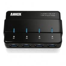 Anker Uspeed USB 3.0 4 Port Hub 12V 2A Netzteil Stromanschluss Bild 1