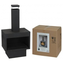 Terrassenkamin, Feuerkorb, Feuerschale, Ofen, Kamin Bild 1