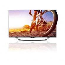 LG 47LA8609 119,4 cm 47 Zoll 3D Fernseher schwarz Bild 1