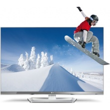 LG 32LM669S 81 cm 32 Zoll 3D Fernseher silber weiß Bild 1