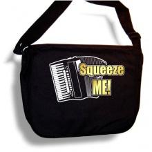 Accordion Squeeze Me Sheet Music Document Bag Musik Notentasche Bild 1