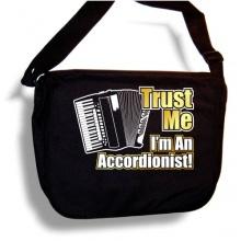 Accordion Trust Me Sheet Music Document Bag Musik Notentasche Bild 1