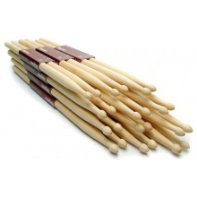 Hickory Drumsticks 12 Pairs of 2B Wood Tip Drum Sticks Bild 1