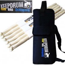 KEEPDRUM 5A American Hickory Drumsticks 3 Paar Bild 1