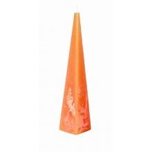 Outdoorkerzen Rustica Pyramidenkerzen Orange Bild 1