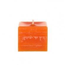 Outdoor Kerzen Quader in Orange Bild 1