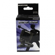 RockTuner CT2 Auto-Chromatisches Stimmgerät schwarz Bild 1