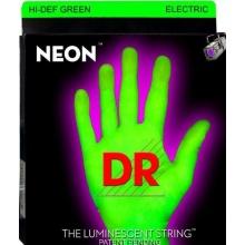 DR Neon Green Medium Saiten E-Gitarre Bild 1