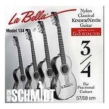 LaBella 653958 Saiten für Klassikgitarre Satz 3/4 Bild 1