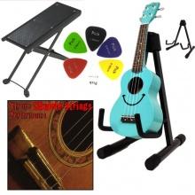 A-Stativ Ukulele akustische Gitarren Saiteninstrumente Bild 1