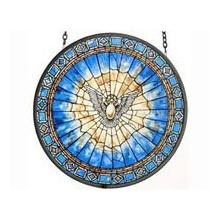 Holy Spirit Roundel Suncatcher Bild 1