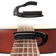 Gitarre Kapodaster Capo Clamp Für Elektro Akustik Tuba Schwarz Bild 1