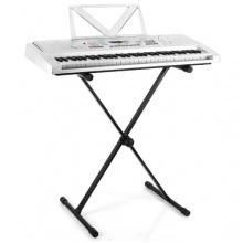 Malone ST-7 Keyboardständer stabiles X-Ständer schwarz Bild 1