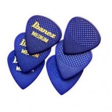 Ibanez BPA16MR-BL Grip Wizard Serie Plektrum Gitarre 6 Stück blau Bild 1