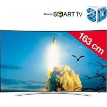 TV Gerät LED-LCD 165 cm 65 Curved TV Bild 1