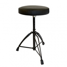 Rocket Music DT01BK doppelverstrebter Drum Hocker Bild 1