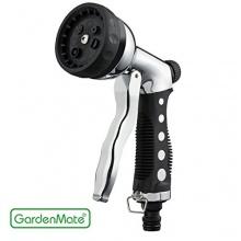 GardenMate® Gartenbrause Handbrause aus Metall mit 7 Funktionen Bild 1